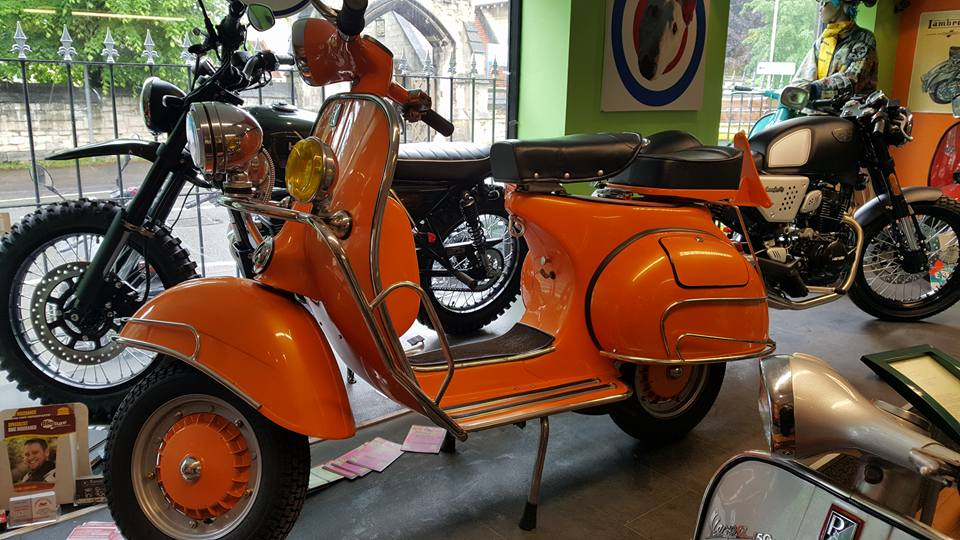Vespa VBB - Orange - Ital Scooters