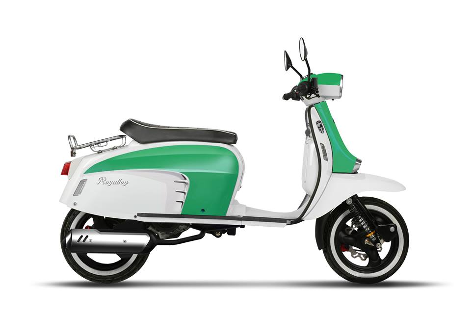 royal alloy lambretta scooter gt 125 ac ital scooters. Black Bedroom Furniture Sets. Home Design Ideas